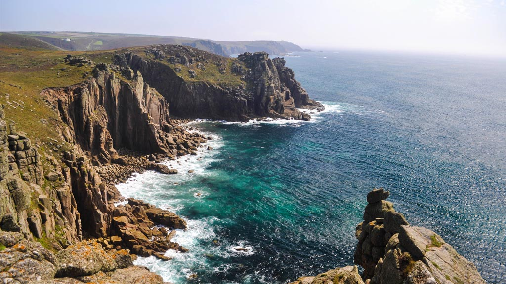 The rugged coast at Land's End is sure to wet any photographer's appetite.