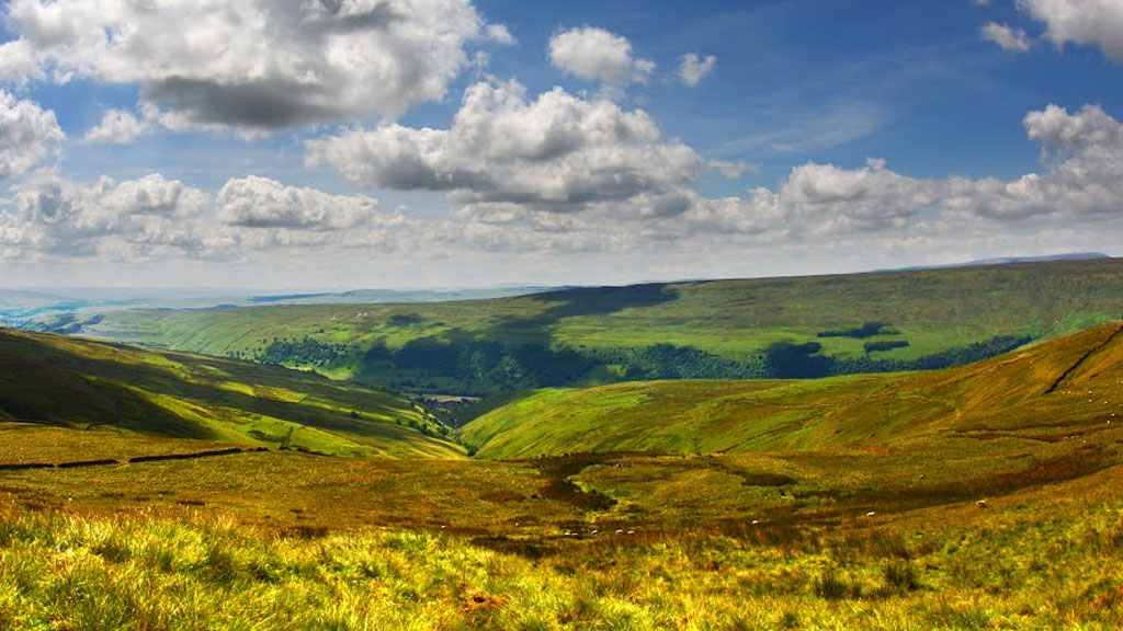 The summit of Buckden Pike in the Yorkshire Dales. Photo courtesy of Bob McCraight.