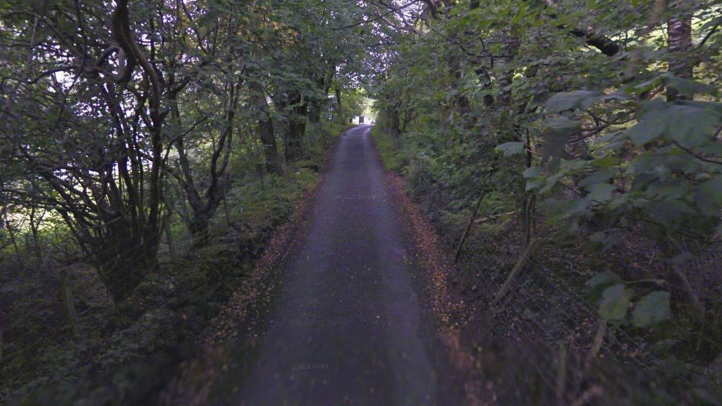 An example back-round through the core of the Snowdonia National Park, courtesy of Google Maps.
