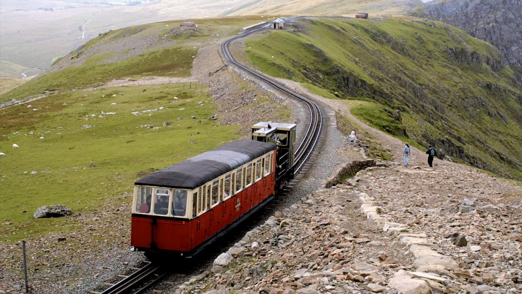 The Snowdonia Mountain Railway. Image courtesy of CopyrightFreePhotos.com.