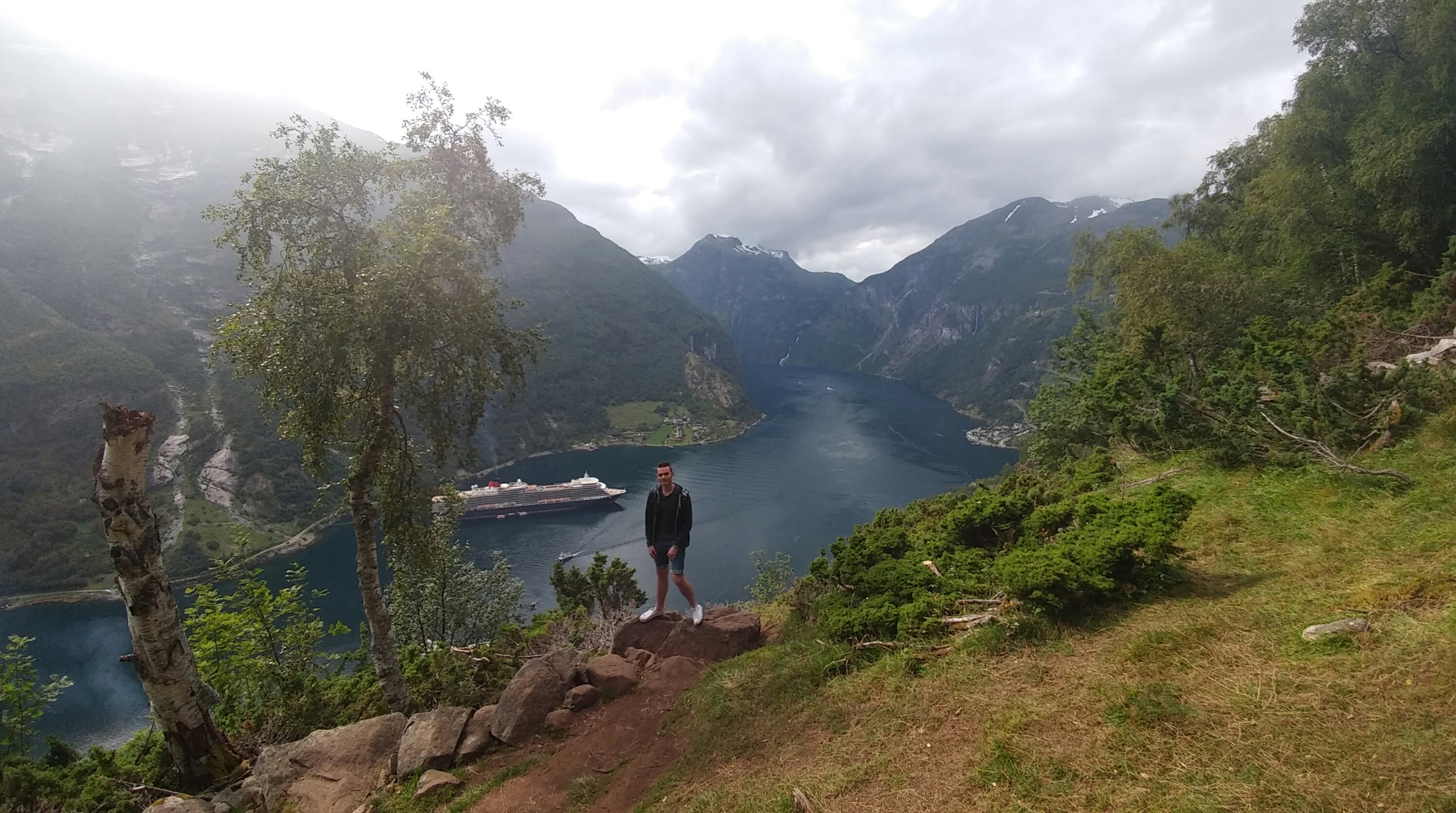Conquering Geiranger, a monster of a fjord, in Norway