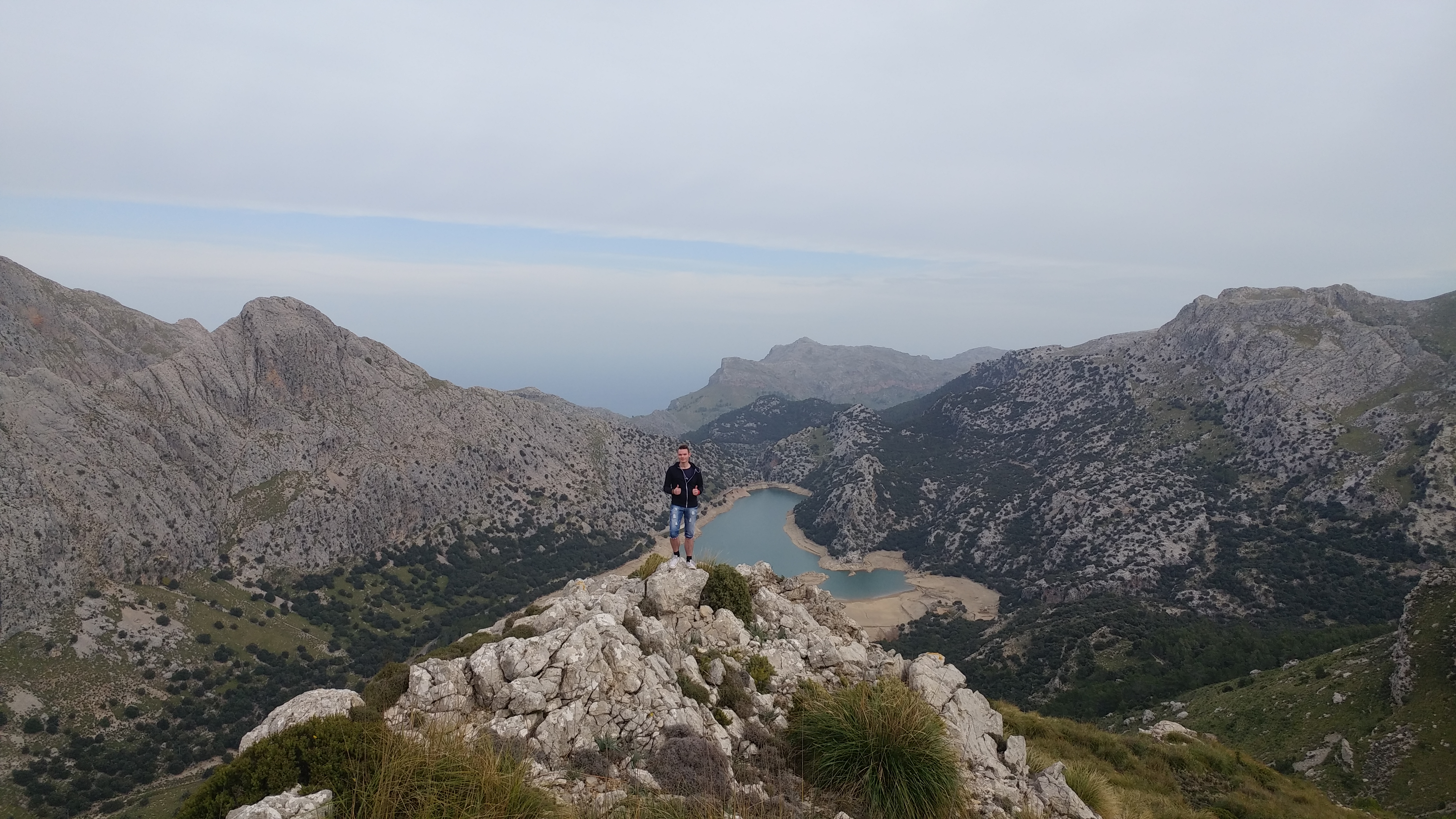 Standing tall upon Puig dels Tossals Verds in Mallorca