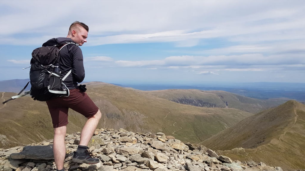 Helvellyn: Conquered!